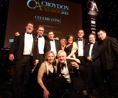 Cleankill at the Croydon Business Awards 2015